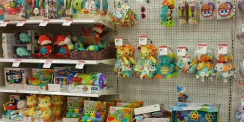 Target: Buy 1 Get 1 50% Off Baby Toys + Extra 10% Off (In-Store & Online)
