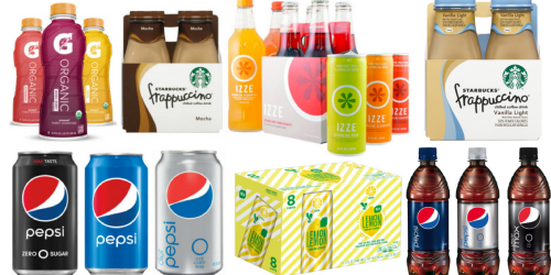 Target: $5 Off $20 Pepsi Products Coupon (Starting 4/30) = Big Savings on Starbucks & More
