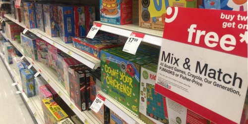 Don't Miss This Buy 2 Get 1 Free Board Game Sale at Target! Stock the Game Closet on the Cheap