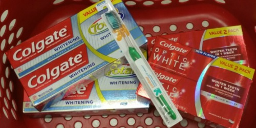 Two NEW $1.50/1 Colgate Coupons = Save BIG On Toothpaste & Mouthwash at Target & Walgreens