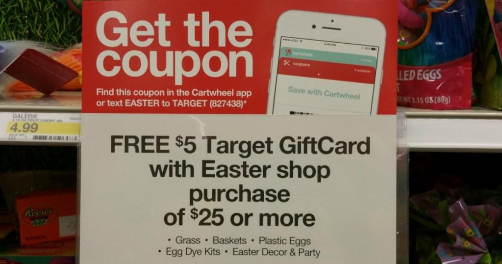 Target Easter Offer