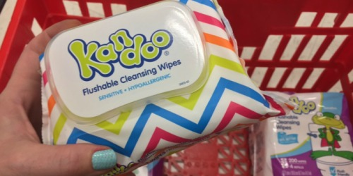 Target: Kandoo Flushable Wipes 50 Count Pack Just 59¢ & More Great Buys