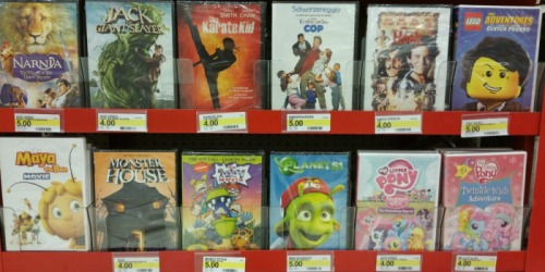 Target Shoppers! 20% Off All DVD & Blu-ray Movies