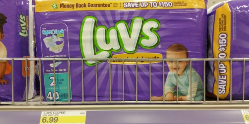 High Value $2/1 Luvs Diapers Coupon = Jumbo Packs Only $4.99 at Target or Walmart