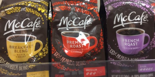 Target Shoppers! McDonald's McCafe Ground Coffee ONLY $3.14 (Regularly $6.19)