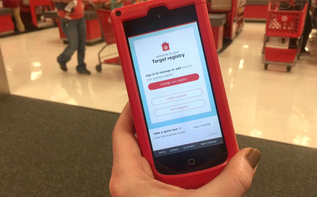 Target Baby Registry Scanner