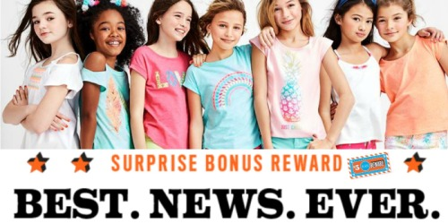 The Children's Place Rewards Members: $5 Off Any Purchase Coupon (Check Your Inbox)