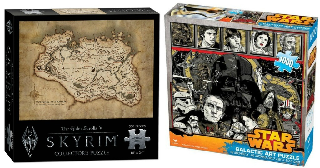The Elder Scrolls Puzzle and Star Wars Puzzle