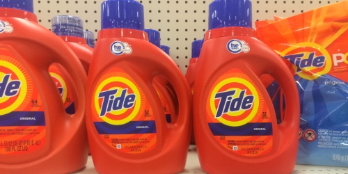 NEW $2/1 Tide Detergent Coupon = Only $2.69 at CVS or Rite Aid + More