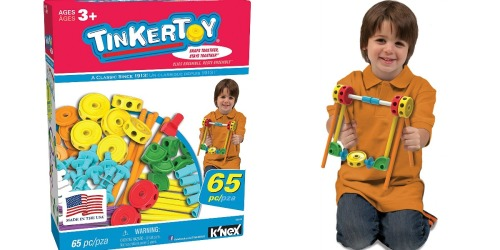 Amazon Prime: TinkerToy 65-Piece Value Set Only $14.49 Shipped (Regularly $24.99)