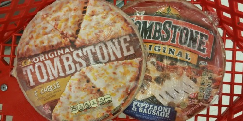 New $1/2 Tombstone Pizzas Coupon = Under $3 Per Pizza at Target + Walmart Deal