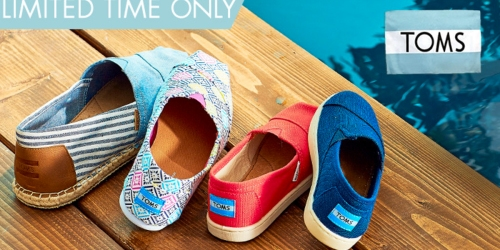 Zulily: Save on TOMS Shoes, Sandals, Boots & More