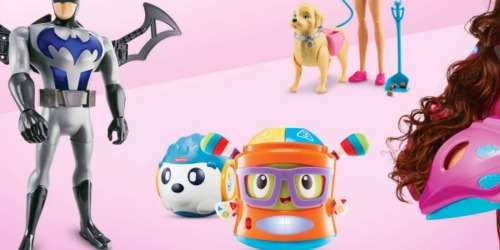 Target: $10 Off $50 Toy Purchase = Nice Deal on Doc McStuffins, Barbie & More (Starts 4/9)