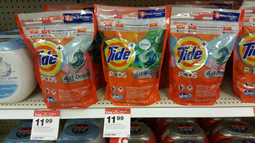 Tide Pods at Target
