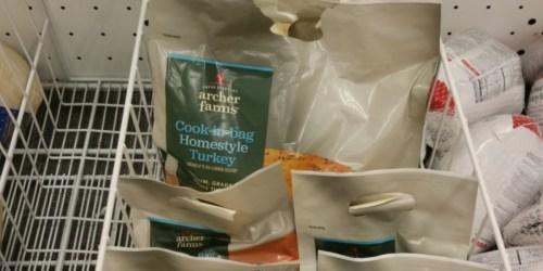 Target: 50% Off Archer Farms Cook-in-Bag Turkeys (After Gift Card) + More