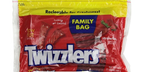 Amazon Prime: Twizzlers Strawberry Twists LARGE 24oz Pouches Only $1.78 Each