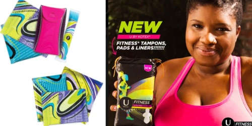 Ladies! HURRY & Score a FREE U by Kotex Fitness Sample Pack (Includes 4+ Samples!)