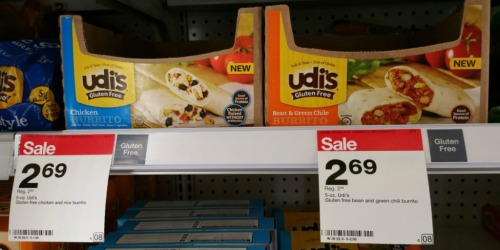 *NEW* $1/1 Udi's Gluten Free Product Coupon = 34¢ Burritos, $1.38 Tortillas & More at Target