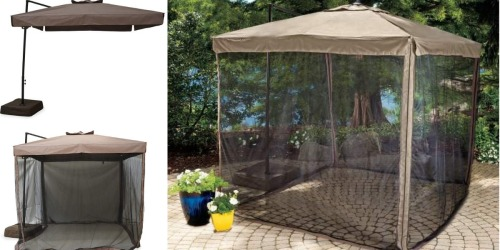 Big Lots: 20% Off Your Entire Purchase = Wilson & Fisher Umbrella with Netting Only $143.99