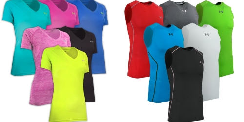 Women's Under Armour 3-Pack Tees Only $36 Shipped (Just $12 Each) & More