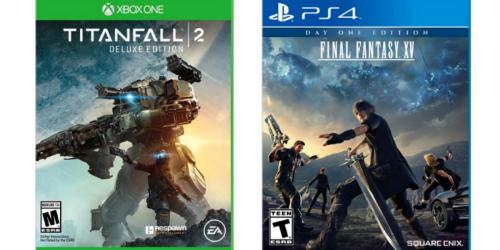 HUGE Savings On Video Games At Best Buy & More (Titanfall 2, Final Fantasy & More)