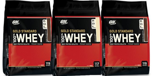 Vitamin Shoppe: HUGE Whey Protein Powder 8 Pound Bag Just $64.99 Shipped