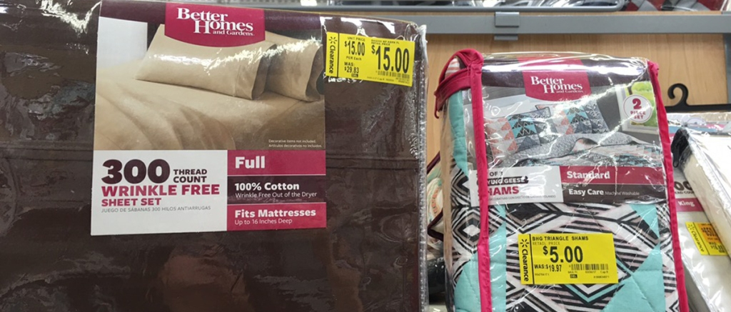 Walmart Clearance Better Homes Sheets