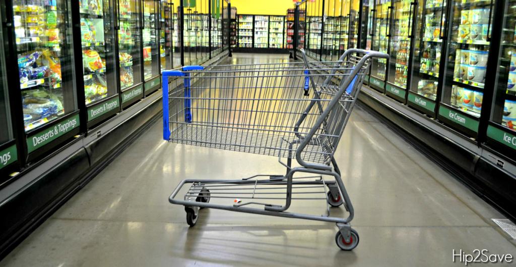 top hacks tips secrets deals – grocery cart in the frozen food aisle