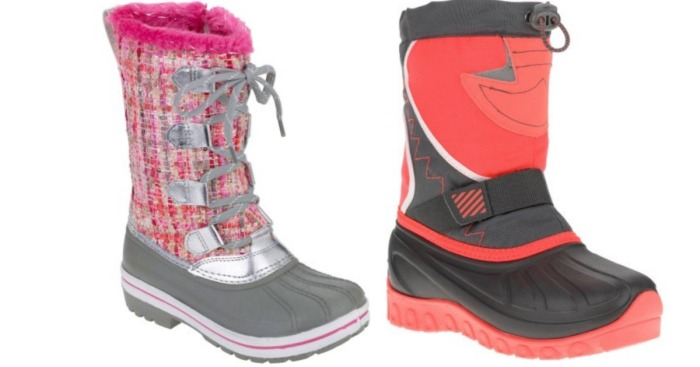 ccb108c7792 Walmart.com  Girl s Ozark Trail Winter Boots Only  9.88 (Regularly  29) -  Hip2Save