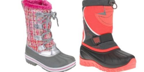Walmart.com: Girl's Ozark Trail Winter Boots Only $9.88 (Regularly $29)