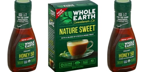 Target: Better than FREE Whole Earth Organic Sweetener