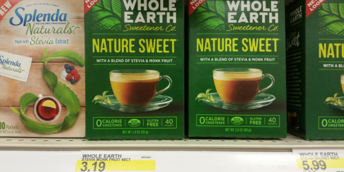Target: Whole Earth Sweetener Products as low as FREE