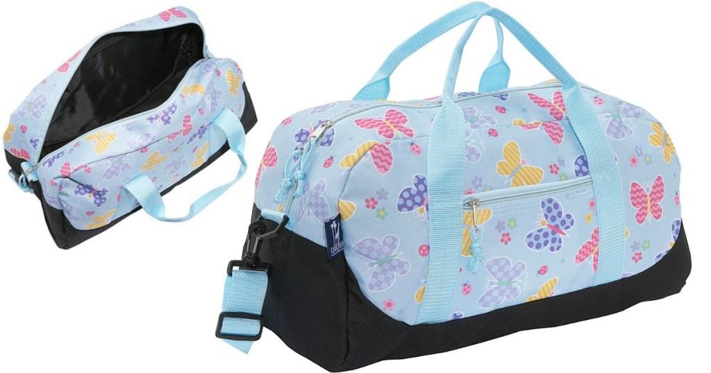 Kohl S Cardholders Wildkin Olive Kids Duffel Bag Only