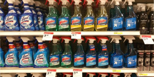 Target: Buy 3 Get 1 Free Windex & Lysol Products = Multisurface Sprays Just $1.78 Each (Reg. $3)