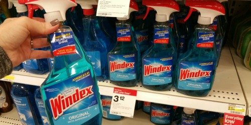 FOUR New Cleaning Coupons! Windex Cleaner Only $1.77 Each at Target