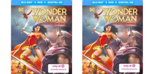 Target.com: Pre-Order Wonder Woman Steelbook Blu-ray + DVD + Digital Combo – Just $9.79