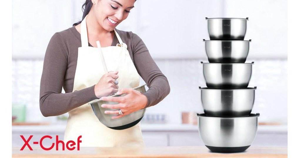 x-chef mixing bowls