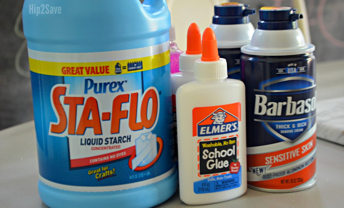 ingredients for slime