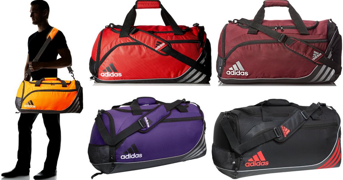 f00c9bf5210b Amazon  Adidas Duffel Bag Only  22.21 (Regularly  40.50) - Hip2Save