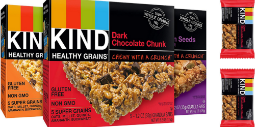 Amazon: KIND Bars 15-Count Variety Pack Only $7.99 Shipped (Just 53¢ Per Bar!) & More