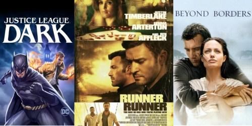 Amazon: 99¢ HD Movie Rentals – Runner Runner, Beyond Borders, Drop Zone & More