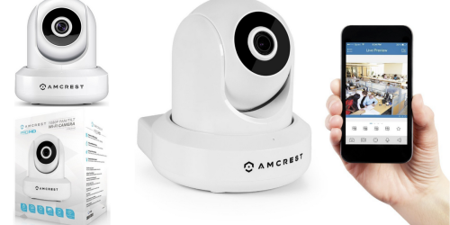 Amcrest Wireless WiFi IP Camera Only $61.99 Shipped (Regularly $139.99)