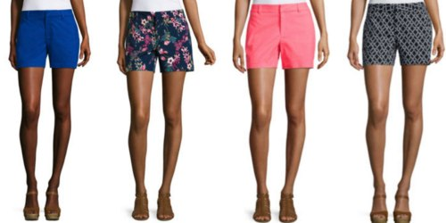 JCPenney: $10 Off $25 Purchase = Women's Shorts Just $7.99 Each (Regularly $30) & More