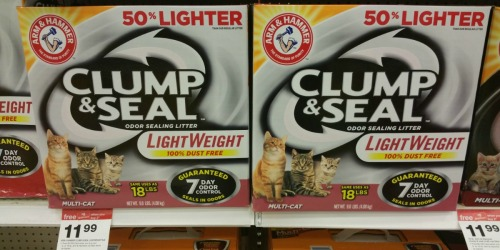 NEW $1/1 Arm & Hammer Cat Litter Coupon = 9-Pound BOX Only $6.69 at Target