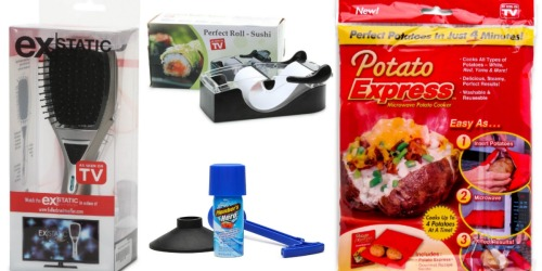 Hollar: $5 Off a $15+ Order = Try 4 New As Seen on TV Products for Just $10 Shipped + More