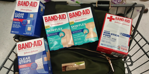 Stock the First Aid Cabinet! Band-Aid Products Only $1.03 Each At Walgreens