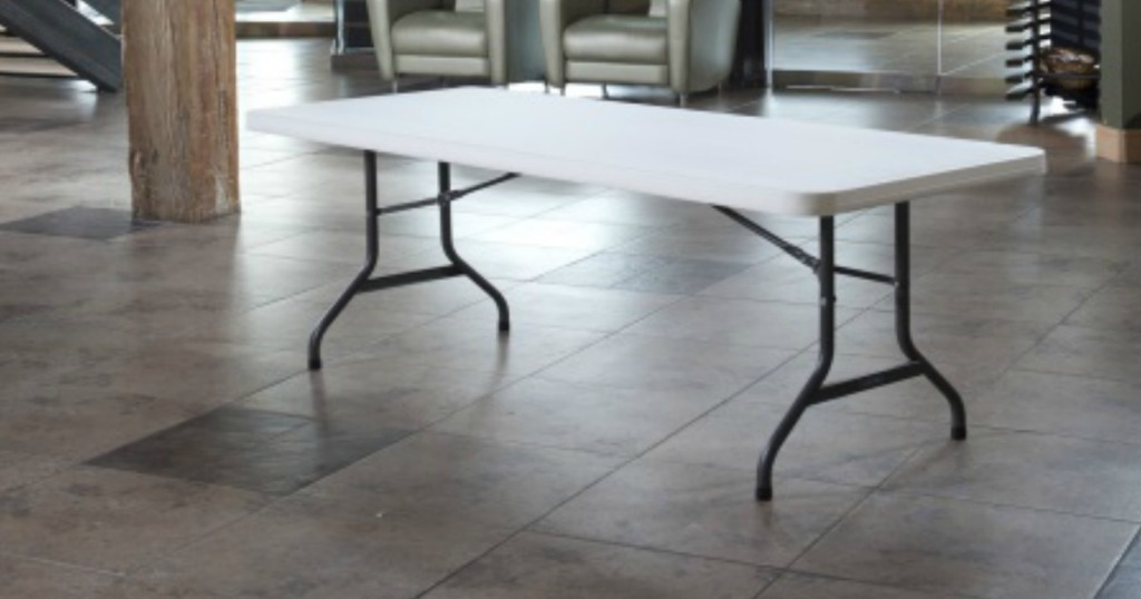 Fine Target Com 6 Folding Banquet Table Only 30 Hip2Save Download Free Architecture Designs Salvmadebymaigaardcom