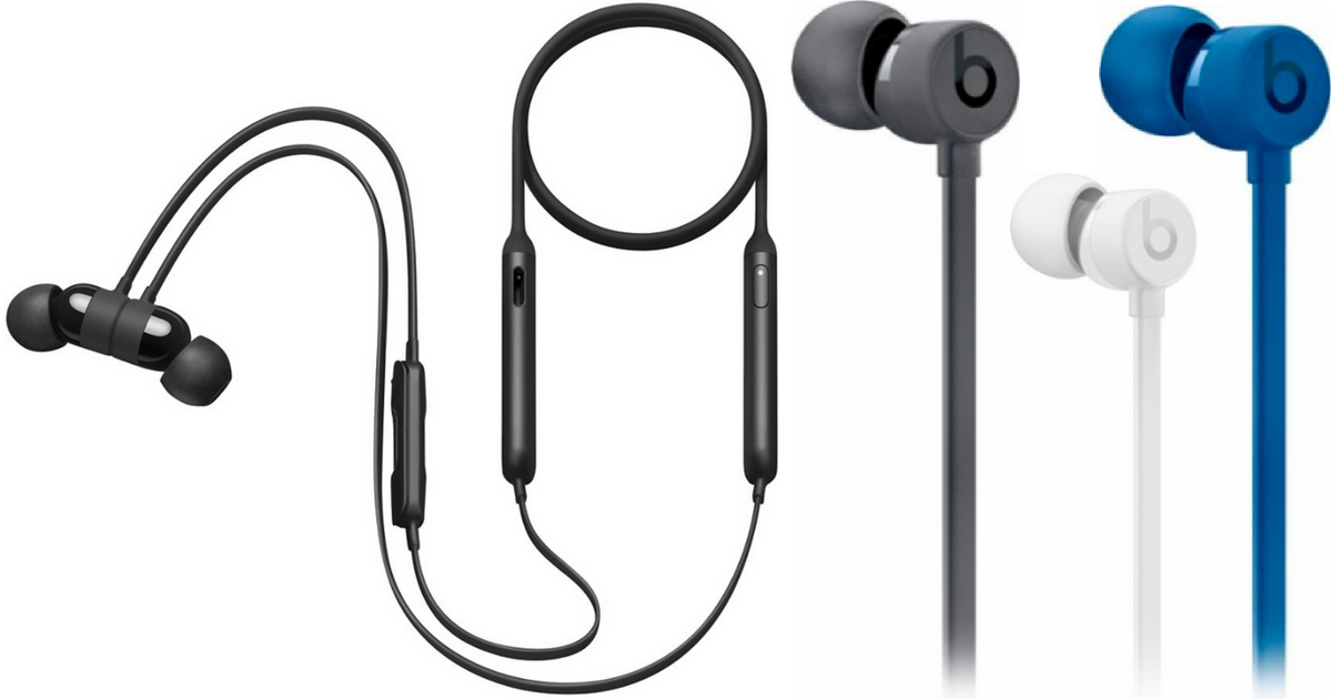 959bb67f5e8 These Beats by Dr. Dre BeatsX earphones are certified refurbished by the  Geek Squad – each product is tested to verify it works like new and is  restored to ...