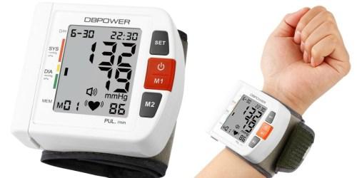 Amazon: FDA-Certified Wrist Blood Pressure Monitor Only $19.49 (Regularly $30+)