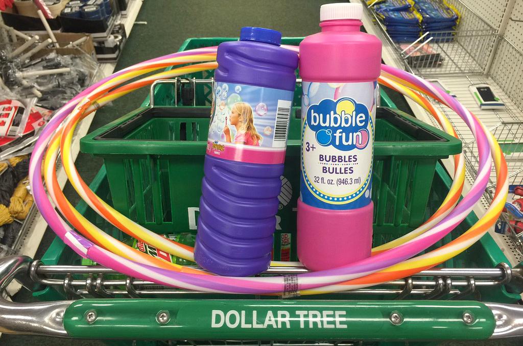 craft supplies at dollar tree